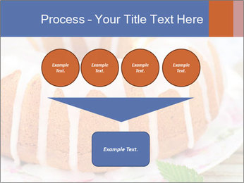 Summer Bundt Cake Topped with Sugar Glaze PowerPoint Templates - Slide 93