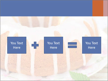 Summer Bundt Cake Topped with Sugar Glaze PowerPoint Templates - Slide 95