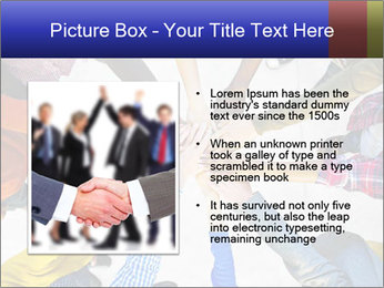 Diverse Multiethnic People Teamwork PowerPoint Template - Slide 13