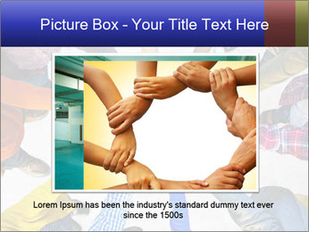 Diverse Multiethnic People Teamwork PowerPoint Template - Slide 15