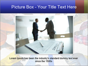 Diverse Multiethnic People Teamwork PowerPoint Templates - Slide 16