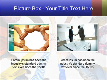 Diverse Multiethnic People Teamwork PowerPoint Template - Slide 18