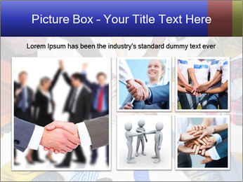 Diverse Multiethnic People Teamwork PowerPoint Template - Slide 19