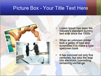 Diverse Multiethnic People Teamwork PowerPoint Template - Slide 20