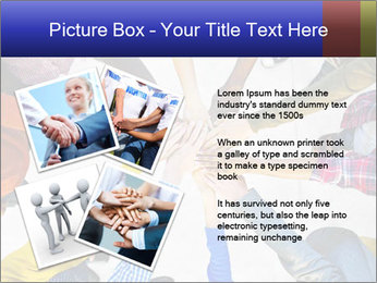 Diverse Multiethnic People Teamwork PowerPoint Template - Slide 23
