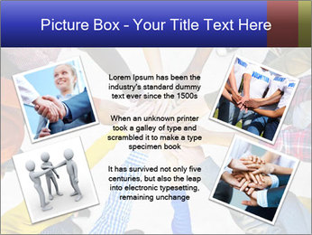 Diverse Multiethnic People Teamwork PowerPoint Template - Slide 24
