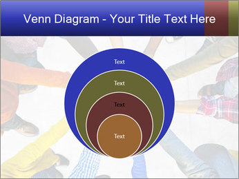 Diverse Multiethnic People Teamwork PowerPoint Template - Slide 34