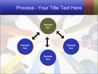 Diverse Multiethnic People Teamwork PowerPoint Template - Slide 91