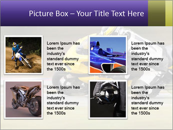 Extreme Moto Ride PowerPoint Template - Slide 14