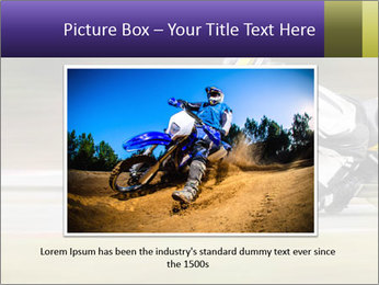 Extreme Moto Ride PowerPoint Template - Slide 15