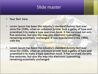 Extreme Moto Ride PowerPoint Template - Slide 2