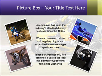 Extreme Moto Ride PowerPoint Template - Slide 24