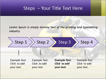 Extreme Moto Ride PowerPoint Template - Slide 4
