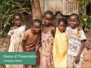 African Kids PowerPoint Templates