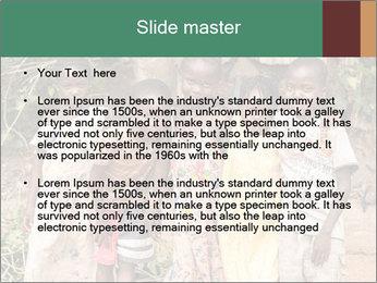 African Kids PowerPoint Templates - Slide 2