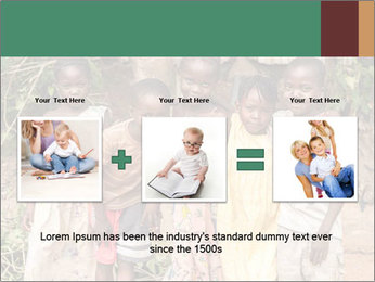 African Kids PowerPoint Template - Slide 22