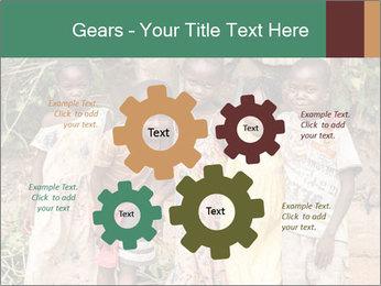 African Kids PowerPoint Templates - Slide 47
