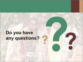 African Kids PowerPoint Templates - Slide 96