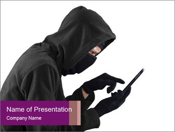 Data Hacker PowerPoint Template - Slide 1