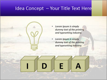 Solo Surfer PowerPoint Template - Slide 80