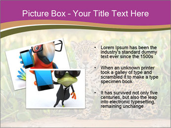 Wild Cat PowerPoint Template - Slide 20