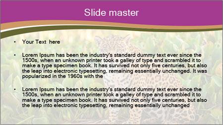 Wild Cat PowerPoint Template - Slide 2