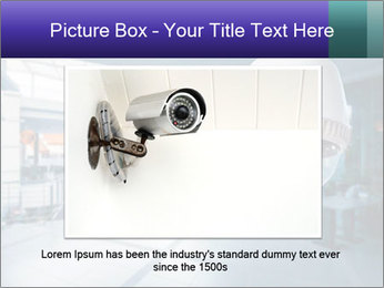 Video Security System PowerPoint Template - Slide 16