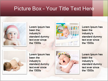 Sweet Baby Dream PowerPoint Template - Slide 14