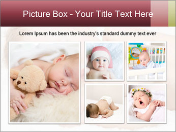Sweet Baby Dream PowerPoint Template - Slide 19