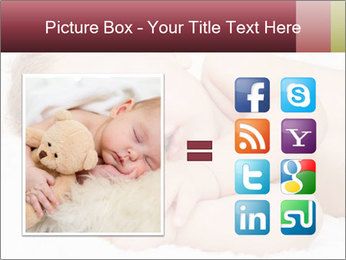 Sweet Baby Dream PowerPoint Template - Slide 21