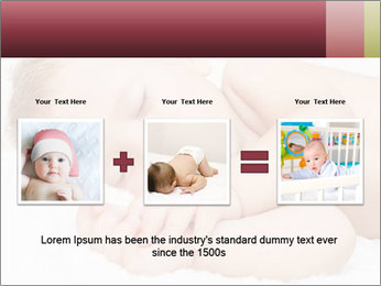 Sweet Baby Dream PowerPoint Template - Slide 22