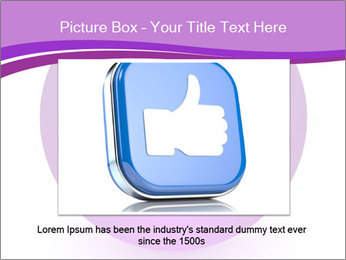Lilac Twitter Icon PowerPoint Templates - Slide 16
