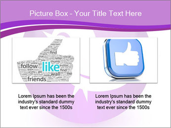 Lilac Twitter Icon PowerPoint Templates - Slide 18