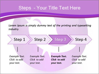 Lilac Twitter Icon PowerPoint Templates - Slide 4