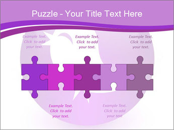 Lilac Twitter Icon PowerPoint Templates - Slide 41