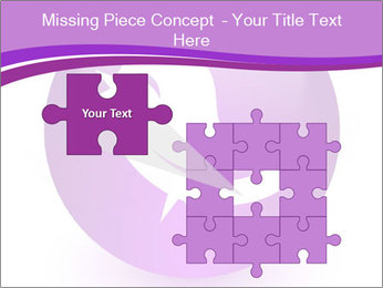 Lilac Twitter Icon PowerPoint Templates - Slide 45