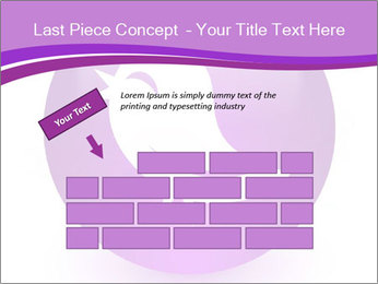 Lilac Twitter Icon PowerPoint Templates - Slide 46