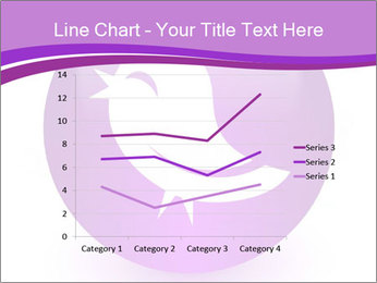 Lilac Twitter Icon PowerPoint Templates - Slide 54