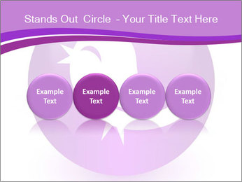 Lilac Twitter Icon PowerPoint Templates - Slide 76