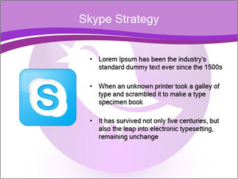 Lilac Twitter Icon PowerPoint Templates - Slide 8