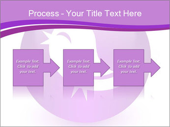 Lilac Twitter Icon PowerPoint Templates - Slide 88