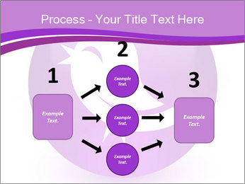 Lilac Twitter Icon PowerPoint Templates - Slide 92