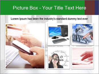 Busy Woman In Empty Conference Room PowerPoint Template - Slide 19