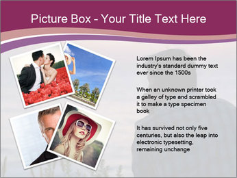 Senior Man Gazing Sunset PowerPoint Templates - Slide 23