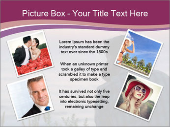 Senior Man Gazing Sunset PowerPoint Templates - Slide 24