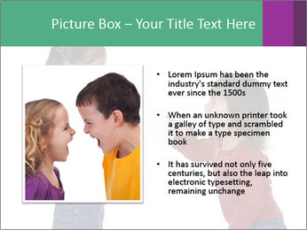 Two Girls Yelling PowerPoint Template - Slide 13
