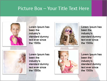 Two Girls Yelling PowerPoint Template - Slide 14