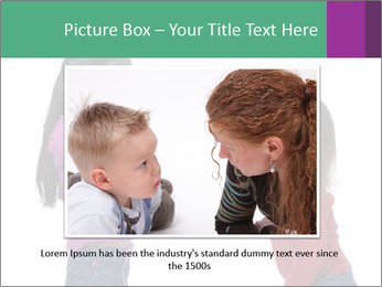 Two Girls Yelling PowerPoint Template - Slide 15