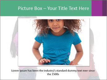 Two Girls Yelling PowerPoint Template - Slide 16