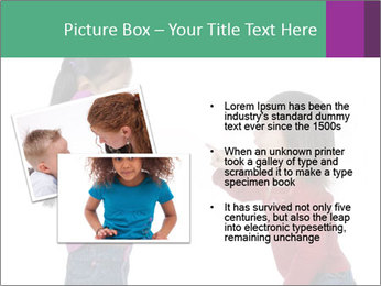 Two Girls Yelling PowerPoint Template - Slide 20